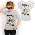 K580 Cotton T-Shirt , Top, Hi! New Gray