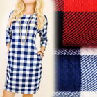 C11288 Classic, Loose Dress, Tunic, Lattice
