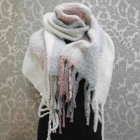 A1810 Large Scarf - couverture , Fluffy Plaid XXL,