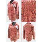 K73 Winter Cardigan, Warm Sweater, Collar