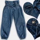 A19216 Pantalons jeans pour filles, 134 - 164