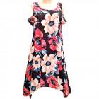 Women Summer Dress, M-2XL, C17818