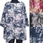 Womens blouse, Oversize, Tunic, Melange, 5251