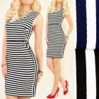 BI466 Attractive Dress, Tunic, Striped Pattern