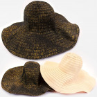 A1273 Summer Hat With Wide Brim, Boho Style