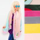 FL694 großer Schal, Damenschal, Pastellfarben