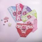 4724 Girls' panties, rabbit, 3 - 8 years old