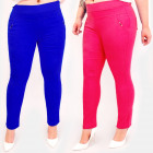 C17636 Women Colorful Pants, Large Size