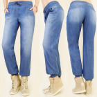 BI281 LOOSE PUMPY PANTS, JEANS, HIPSTER STYLE