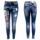 Women Jeans, 25-30, Print and Patches, B16883