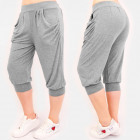 4596 Summer Sweatpants, Women Shorts, Gray