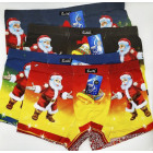 4827 Cotton Boxer Briefs for Men, L-3XL, Christmas