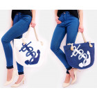 T55 Attractive and Large Ladies Bag, Large Anchor
