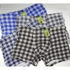 4837 Bamboo Boxer Shorts Men, L-3XL, Checkered