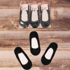 4553 Women& Socks, Feets, Ballerinas Black 39-41