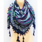 B11496 Big Scarf, Plaid, Shawl, Warm Knitwear