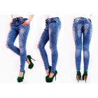 B16706 Women Pants Jeans, Marbles, Holes