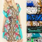 FL475 Exquisite Dress, Kimono, Rustic Pattern