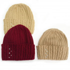 Warm Women Cap, Hat, 2 layers, Cuff, 5092