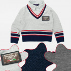 A19163 Boys Sweater, Littel College, 4-12 years