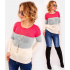 R67 Warm Original Sweater with Braid, Belts