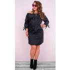 BI692 Romantic Dress, Bows Beautiful Shoulders