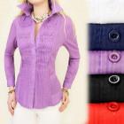 A1901 Elegant women's blouse, coton