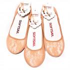 Lace Women Socks, Ballerinas, Beige 39-41 5334