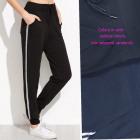 Women's sports pants, stripes, M - 4XL, 5713