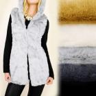 C17246 Bodywarmer, Vest, Hooded Jacket, Fur