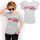 N049 Cotton Blouse, Top, Cool Girl, Gray