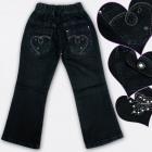 A19203 Pantaloni jeans per ragazze, 1-5 anni