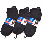 Men Socks, Feet, Black, cotton 40-46, 5386