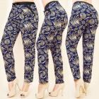 C17193 Belüftete Hosen, Plus Size, Cute Pattern