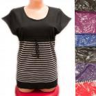 Women Sweater, UNI, Striped Pattern, Kimono, D1412