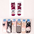 Children's Thick Socks with Fur, ABS, 4935
