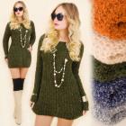 G240 Meaty Winter Tunic Dress, Long Sweater