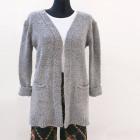 Cardigan long, chandail pour femme (UNI) A8116