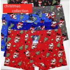 4818 Cotton Boxer Briefs for Men, L-3XL, Christmas