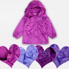 A19172 Girls Fleece Jacket, Waterproof Coat 4-12