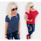 D26108 Cotton Top, Loose Blouse, Casual Line