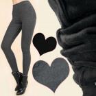 A19145 Leggings Warm pour femmes, fourrure isolant