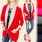 BI304 SWEATSHIRT JACKET, OVERSIZE, outfit, COAT