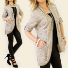 3972 Loose Jacket, Women Cardigan, Oversize
