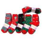 Women's socks, cotton , Christmas, 5731
