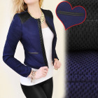 BI319 CHARMANTE CHANELKA, VESTE, COUSSINETS D'