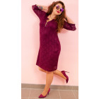 BI776 Lace Dress, Plus Size up to 56
