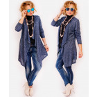R14 Long and Loose Cardigan, Jacket, Trendy Melang