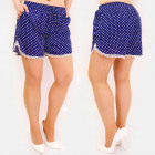 C17686 Women Summer Shorts, Loose Fit, Dots
