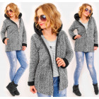 4449 Spring Women Hoodie, Soft Jacket, Fluffy